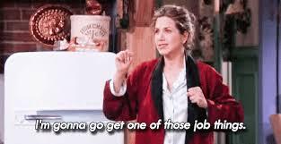 Rachel Green Tries to Get a Job